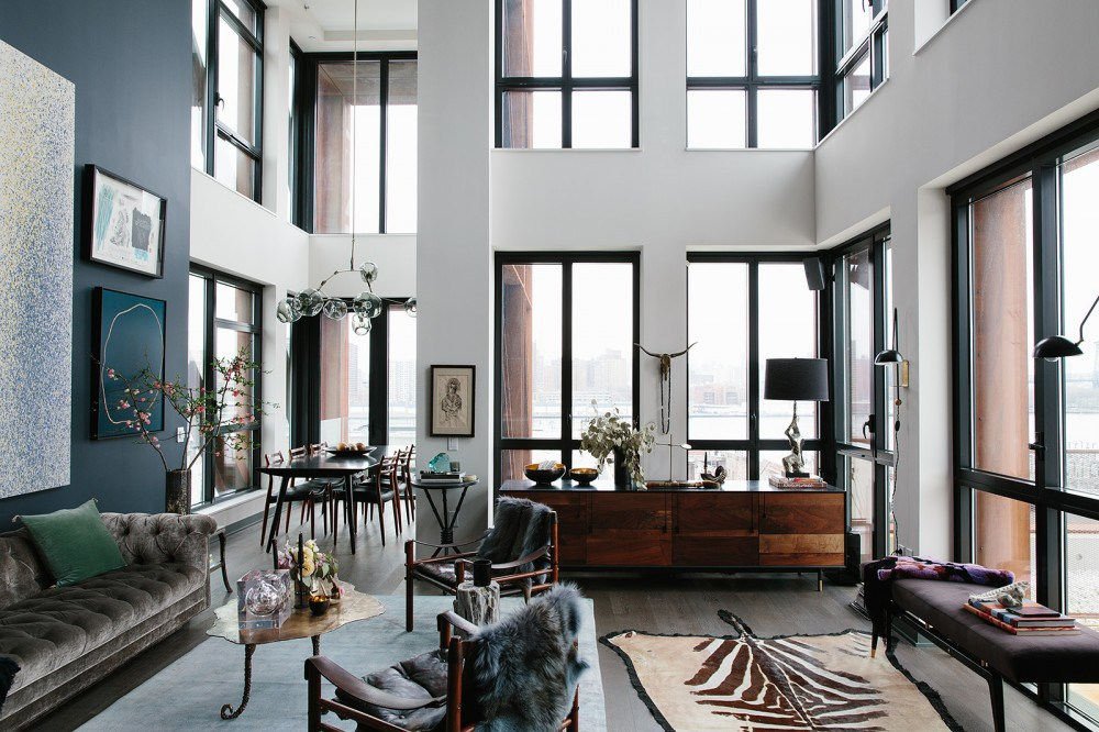 13 Stunning Apartments In New York: Eklektisk Stil